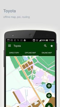 Toyota Map offline apk screenshot
