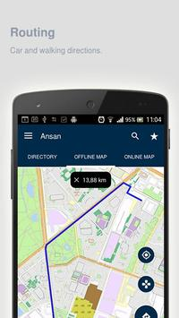 Ansan Map offline screenshot 2