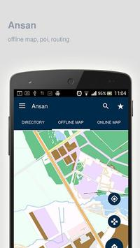 Ansan Map offline screenshot 8