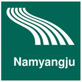 Namyangju Map offline icon