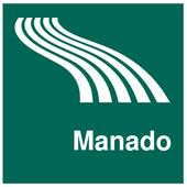 Manado Map offline icon