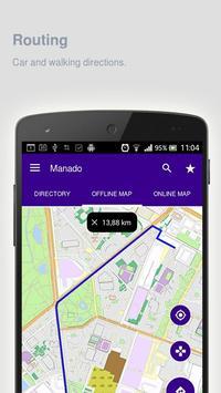 Manado Map offline apk screenshot