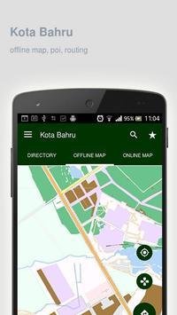 Kota Bahru Map offline poster
