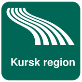 Kursk region Map offline icon