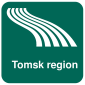 Tomsk region Map offline icon