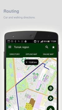 Tomsk region Map offline apk screenshot