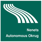 Nenets Autonomous Okrug Map icon