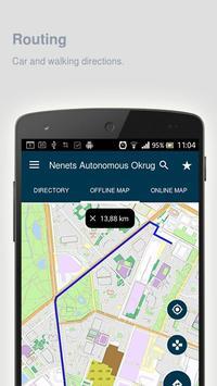 Nenets Autonomous Okrug Map apk screenshot