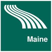 Maine Map offline icon