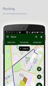 Maine Map offline apk screenshot