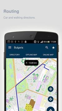 Bulgaria Map offline apk screenshot