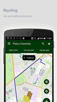Poitou-Charentes Map offline apk screenshot