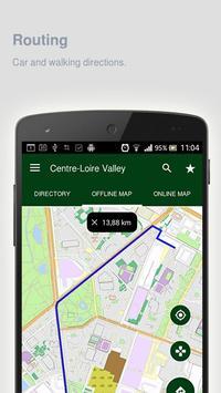 Centre-Loire Valley Map apk screenshot