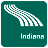 Indiana Map offline icon