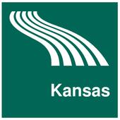 Kansas Map offline icon
