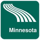 Minnesota Map offline icon
