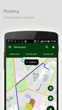 Minnesota Map offline apk screenshot