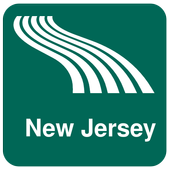 New Jersey Map offline icon
