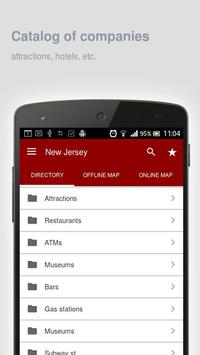 New Jersey Map offline apk screenshot