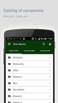 New Mexico Map offline apk screenshot