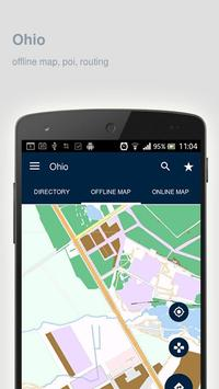 Ohio Map offline apk screenshot