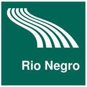 Rio Negro Map offline icon