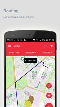 Belek Map offline apk screenshot