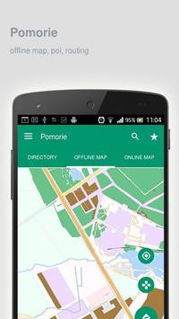 Pomorie Map offline poster