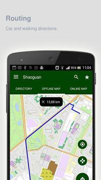 Shaoguan Map offline apk screenshot