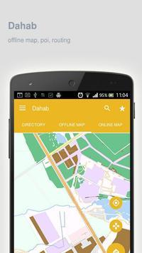 Dahab Map offline apk screenshot