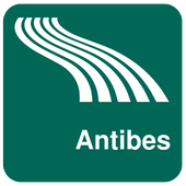 Antibes Map offline icon