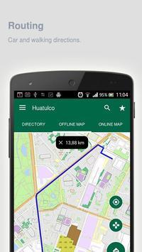 Huatulco Map offline apk screenshot