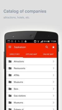 Saskatoon Map offline apk screenshot