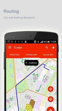 Guelph Map offline apk screenshot