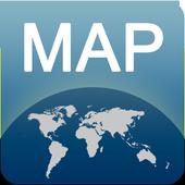 Brantford Map offline icon