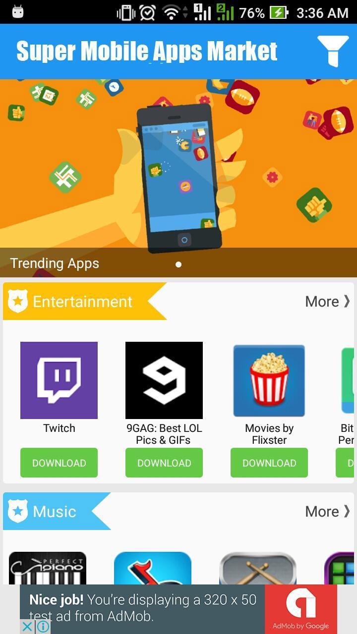 Super Mobile Apps Market for Android - APK Download