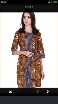 Modern Batik Dress screenshot 1