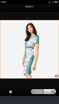 Modern Batik Dress screenshot 2