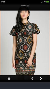 Modern Batik Dress screenshot 3