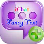 iChat Fancy Text icon