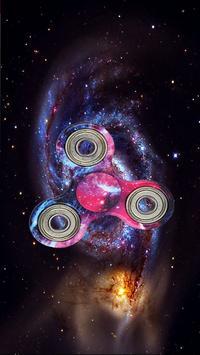 Fidget Spinner High Wallpaper poster
