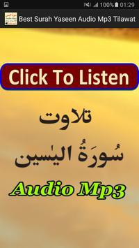 Best Surah Yaseen Audio Mp3 poster