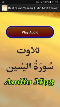 Best Surah Yaseen Audio Mp3 apk screenshot