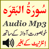 Best Surah Baqarah Audio Mp3 icon