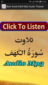 Best Surat Kahf Mp3 Audio App poster