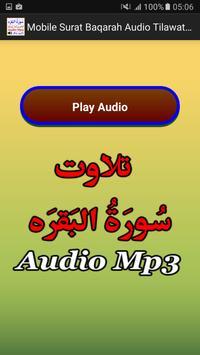 Mobile Surat Baqarah Audio Mp3 apk screenshot