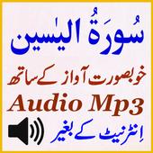 Mobile Surat Yaseen Audio Mp3 icon