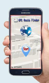 GPS Route Finder Exact screenshot 1