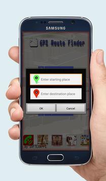 GPS Route Finder Exact screenshot 4