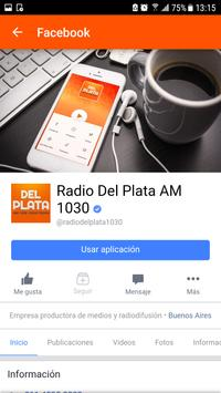 Radio Del Plata AM 1030 screenshot 2